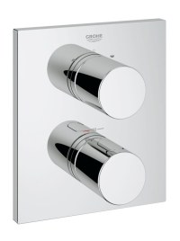 Grohe Grohtherm 3000 Cosmopolitan Thermostat Valve With 2 ...