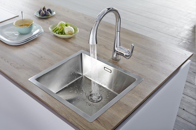 Grohe Zedra Kitchen Sink Mixer Tap Chrome 32294001