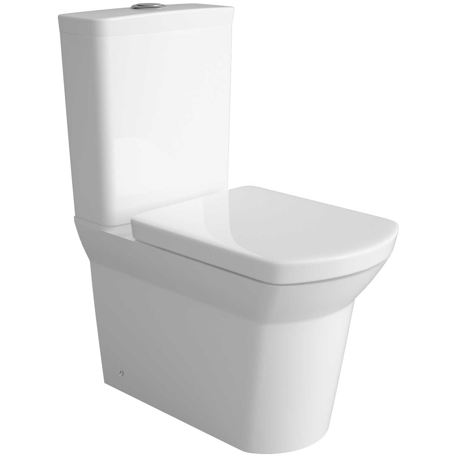 Commode Maya But Lauren Clara Close Coupled Flush To Wall Wc Set 645mm