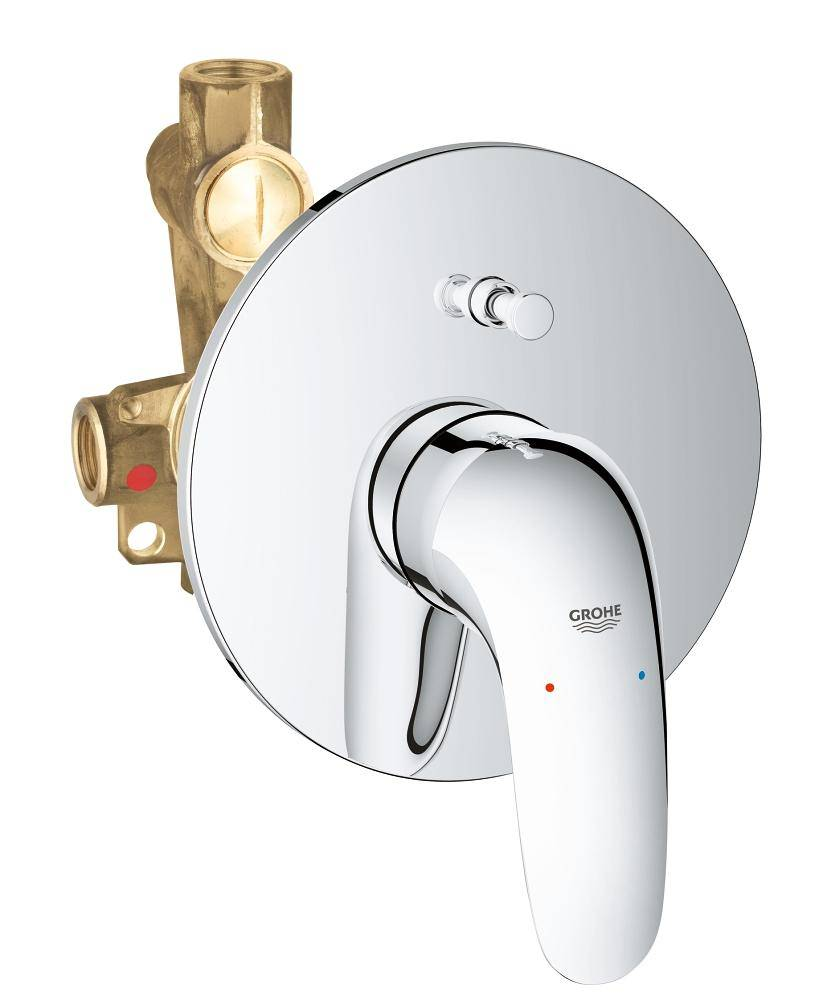 Grohe Dusche Grohe Eurostyle Single Lever Bath Shower Mixer Valve