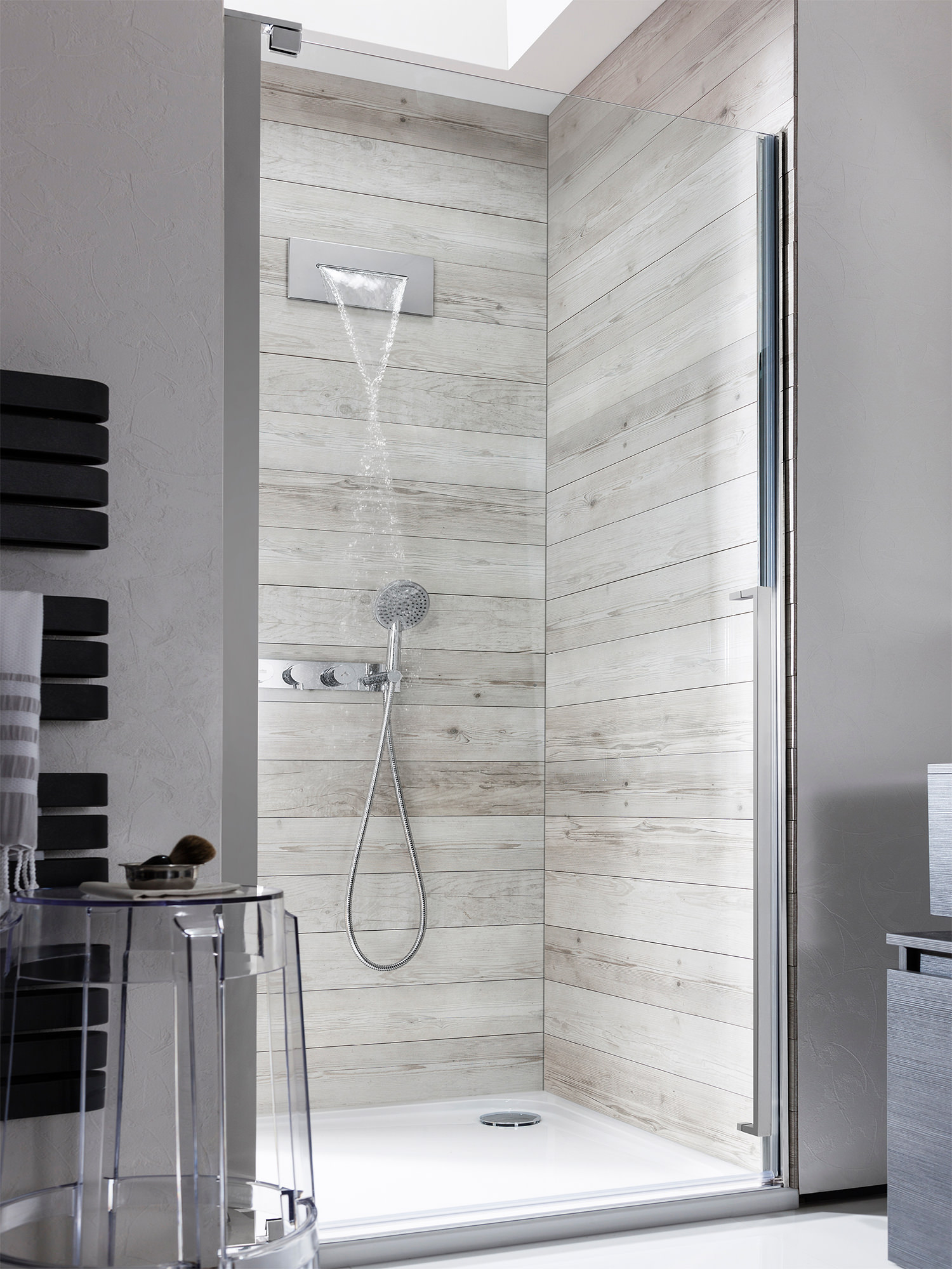 Waterfall Shower Ideas Crosswater Zest Shower Bath Waterfall Filler Tap Zt0370wc
