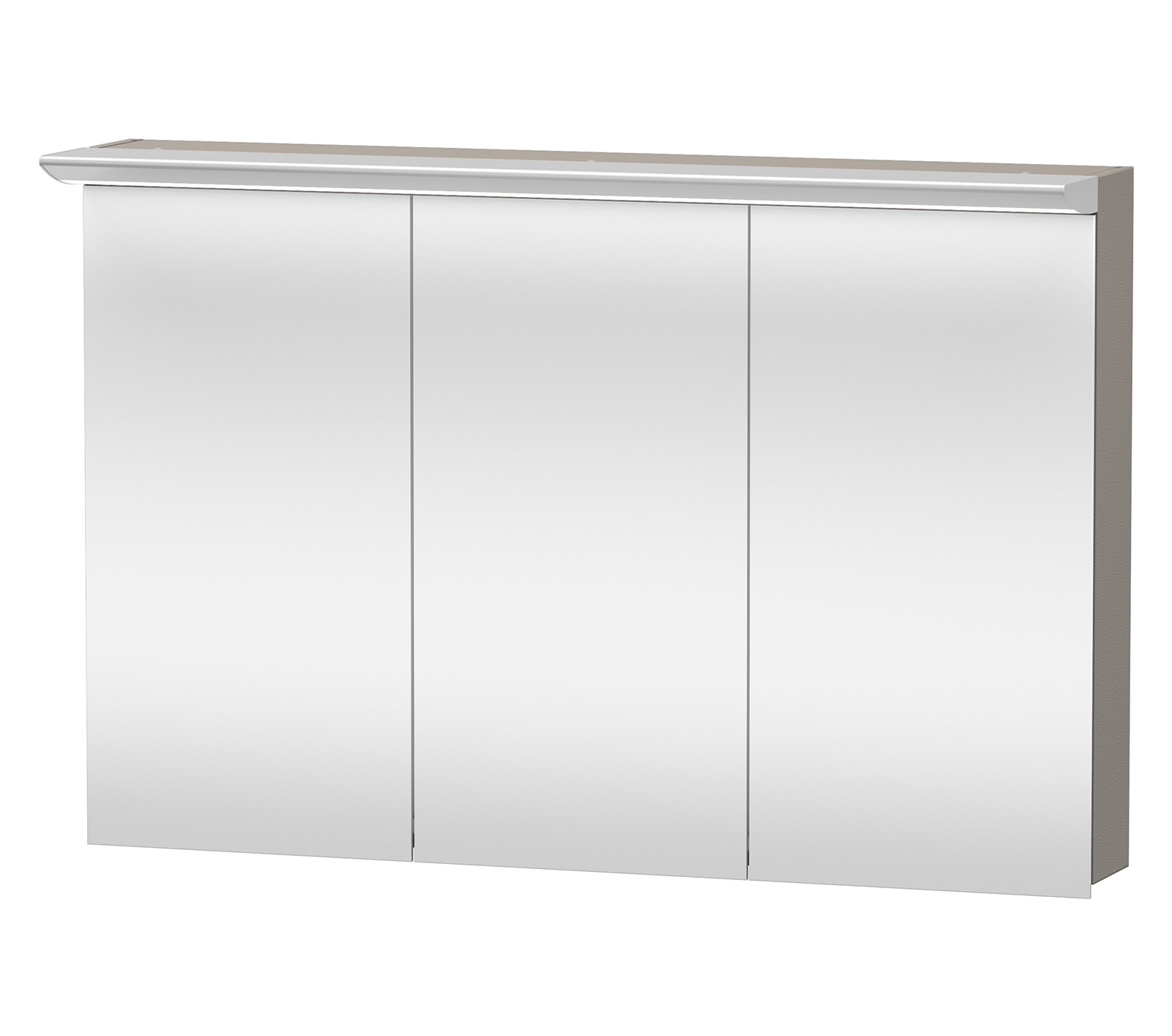 3 Door Mirrored Bathroom Cabinet Duravit Darling New 1200mm 3 Door Mirror Cabinet Dn753801414