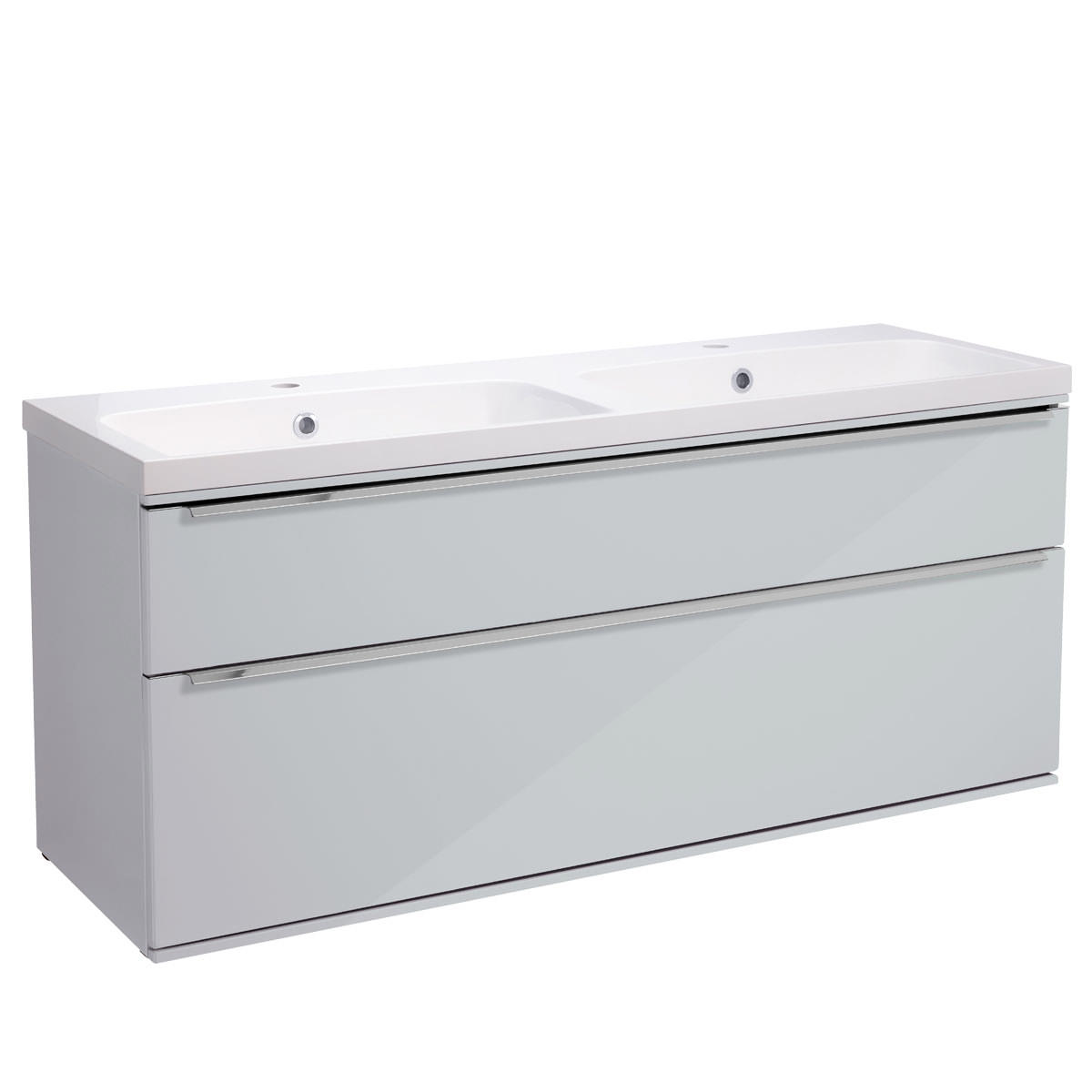 1200mm Vanity Units Roper Rhodes Scheme 1200mm Gloss White Wall Mounted Vanity