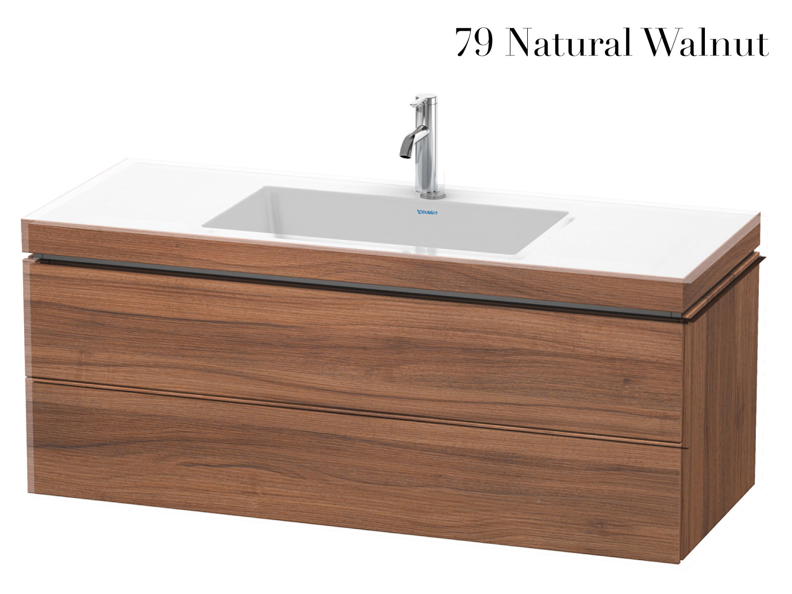 1200mm Vanity Units Duravit L Cube 1200mm 2 Drawer Vanity Unit With C Bonded Basin