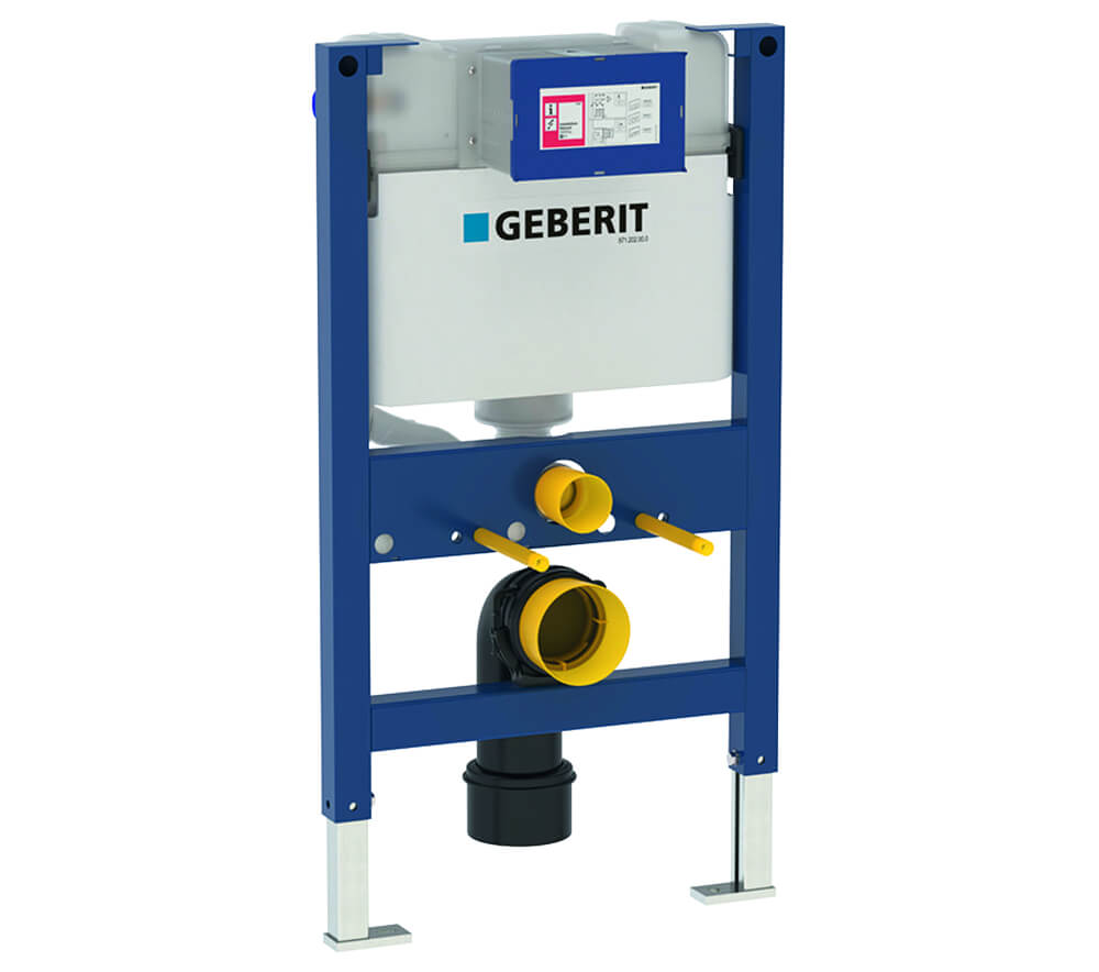 Geberit Wc Geberit Duofix Wc Frame H82 With Kappa Up200 Cistern 15cm