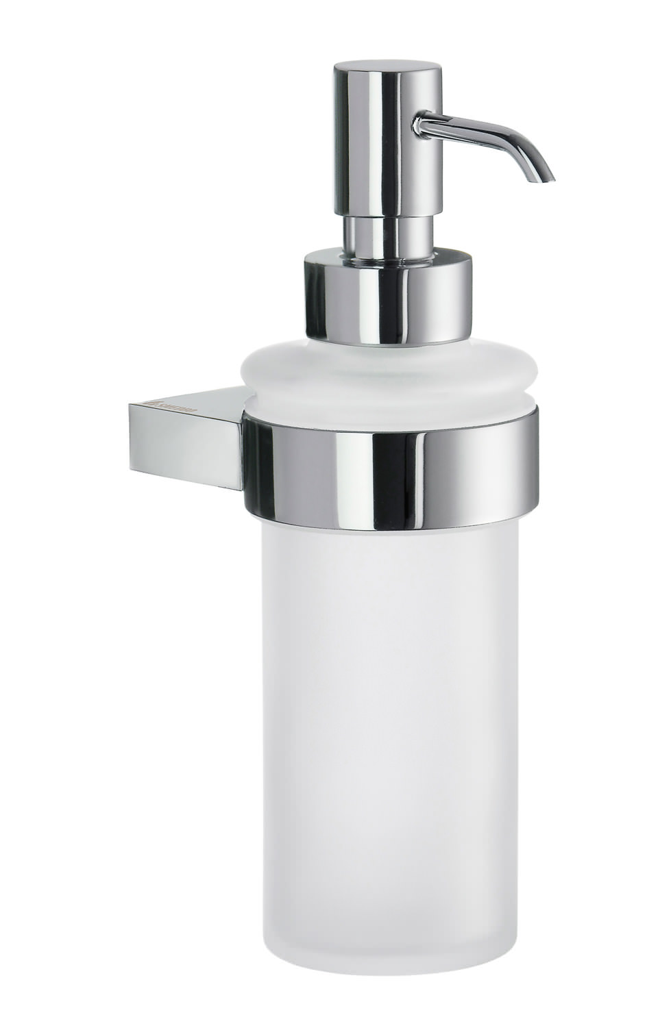 Seifenspender Küche Wandmontage Smedbo Air Frosted Glass Soap Dispenser With Holder - Ak369