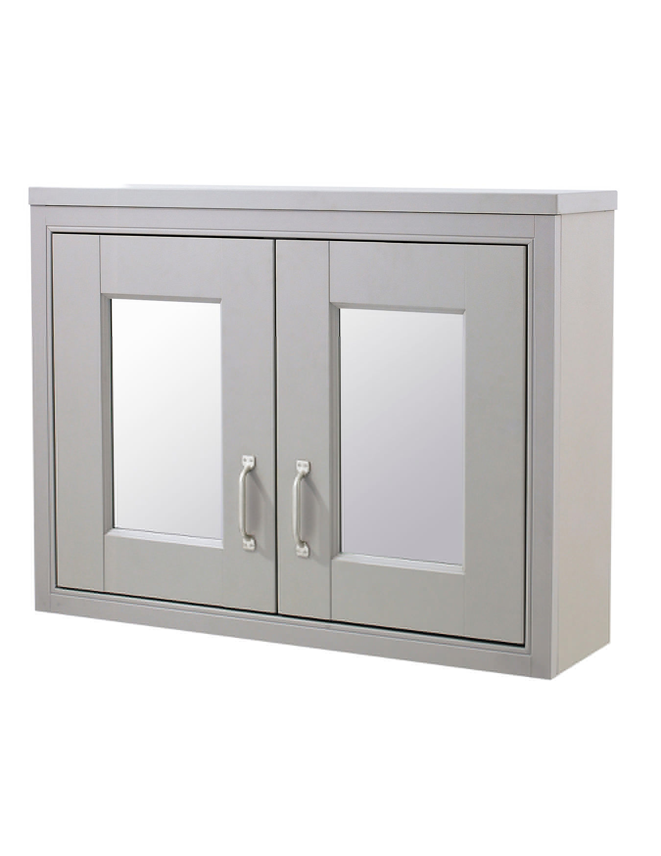 Mirror Bathroom Cabinets Uk Old London Stone Grey 800mm Mirror Cabinet Nlv415