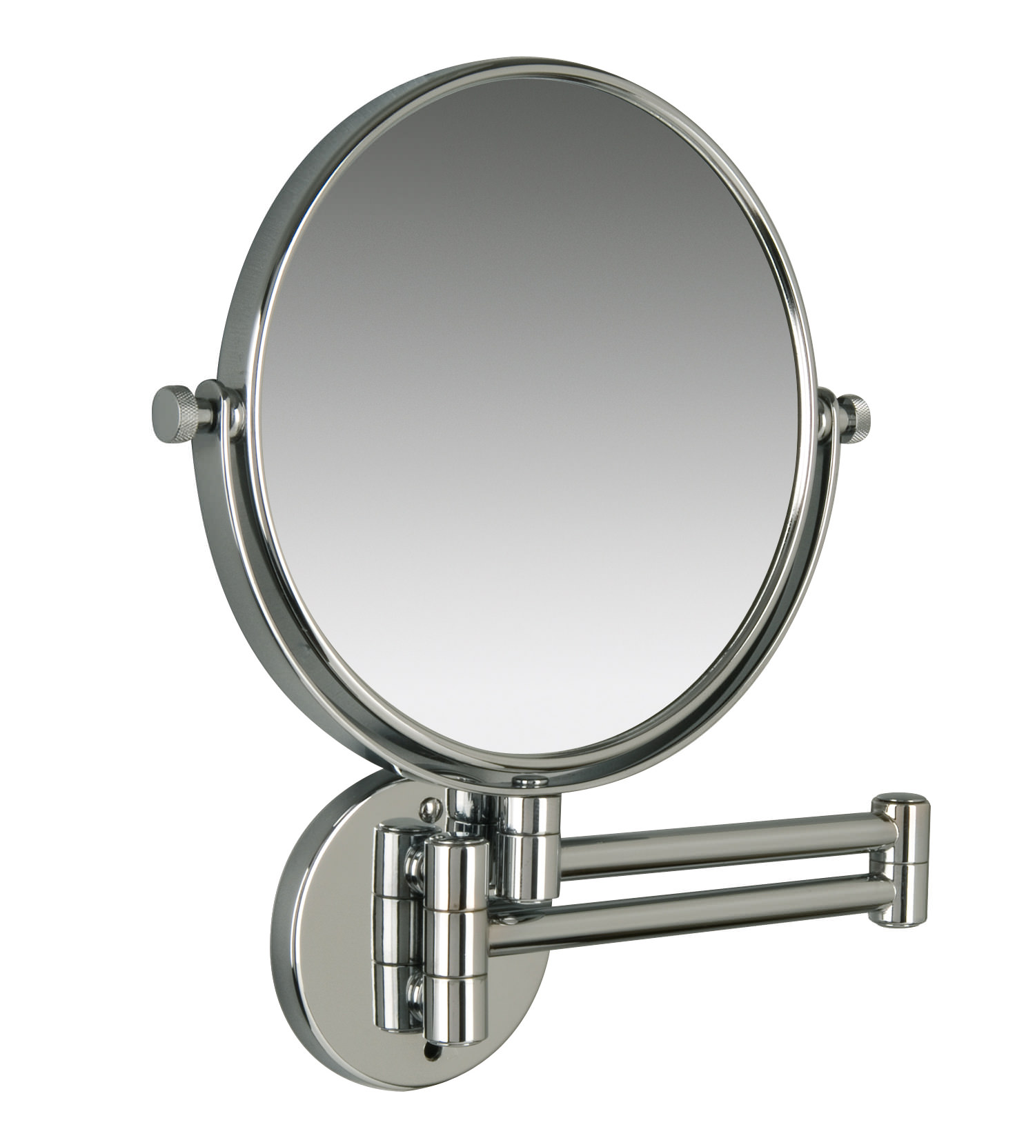Bathroom Extension Mirrors Miller Classic Modern 190mm Round Magnifying Mirror 8781c