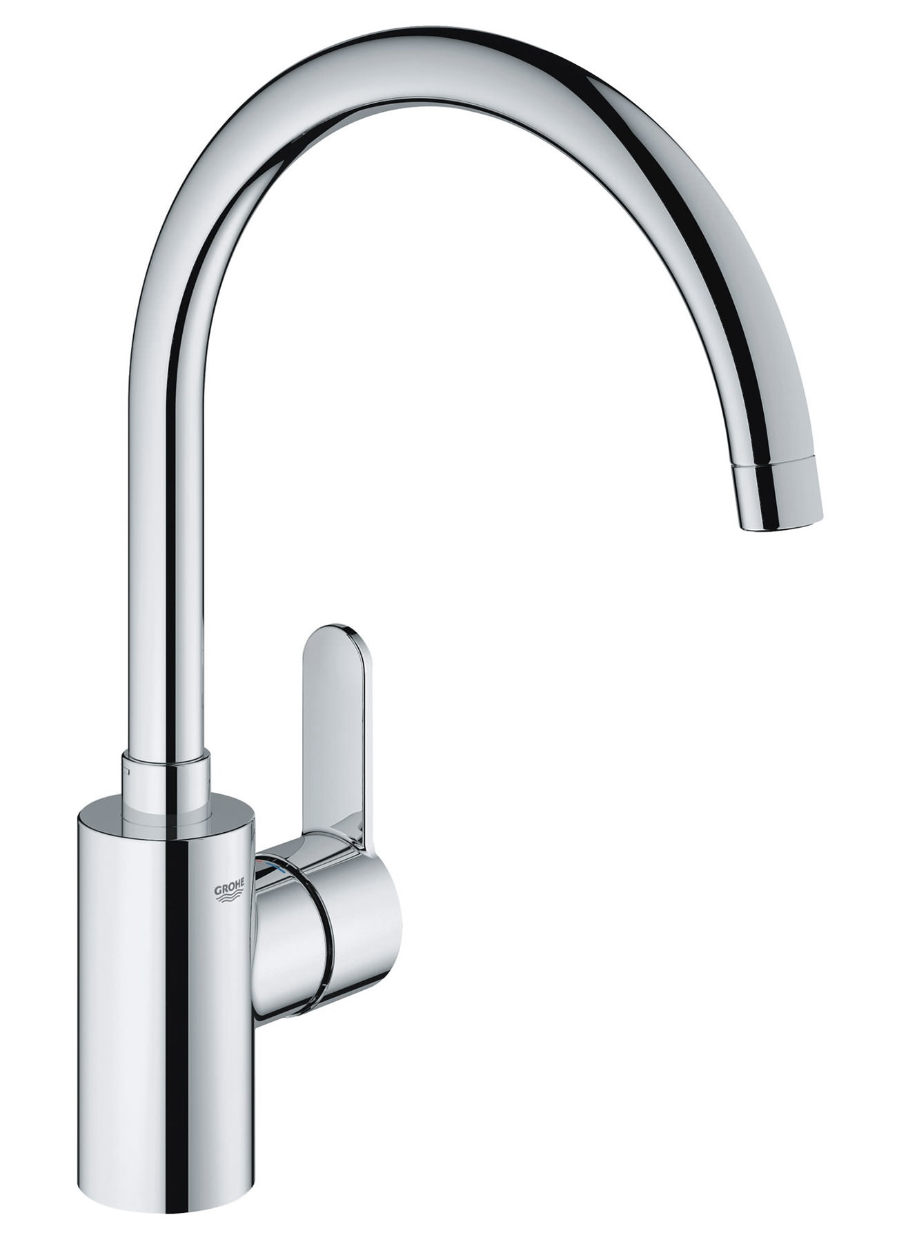 Grohe Eurostyle Cosmopolitan High Spout Mono Sink Mixer Tap