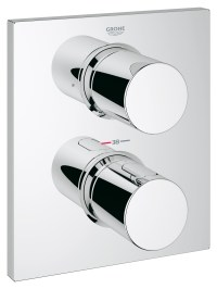 Grohe Spa Grohtherm F Trim Thermostatic Valve With 2 Way ...