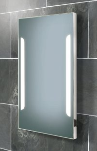 HIB Zenith Back-Lit Steam Free Mirror With Shaver Socket ...