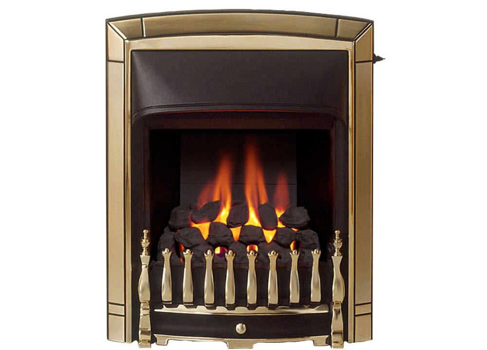 Black Bathroom Valor Dream Convector Slide Control Inset Gas Fire - 05750s1