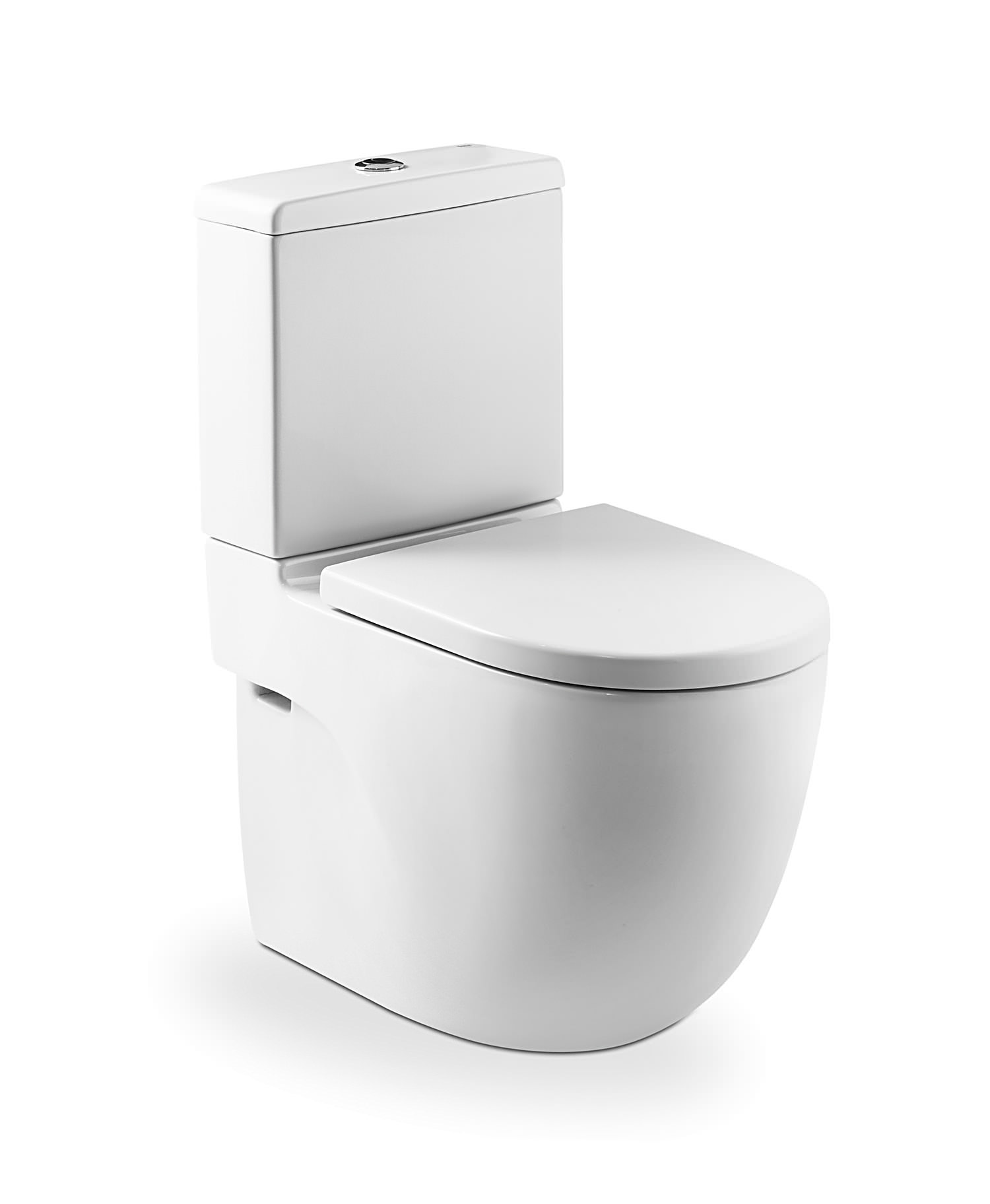 Bidets Duravit Roca Meridian-n Compact Back To Wall Wc Set 600mm | 342248000