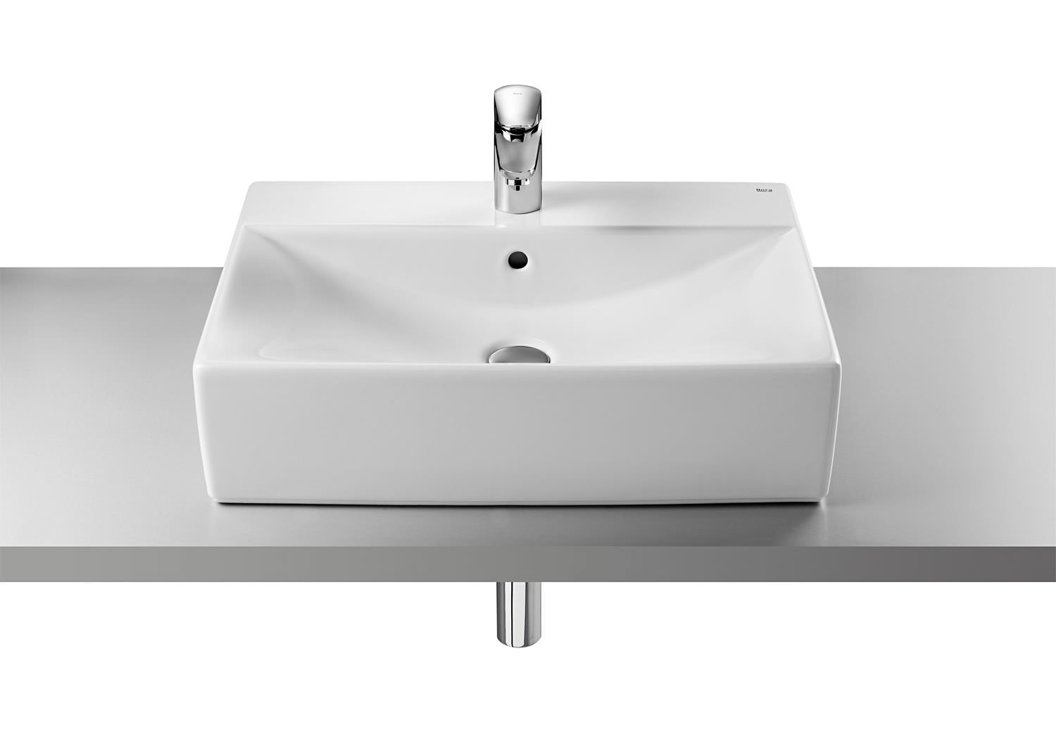 Lavabos Roca Sobre Encimera Roca Diverta On Countertop Basin 600mm Wide 32711g000