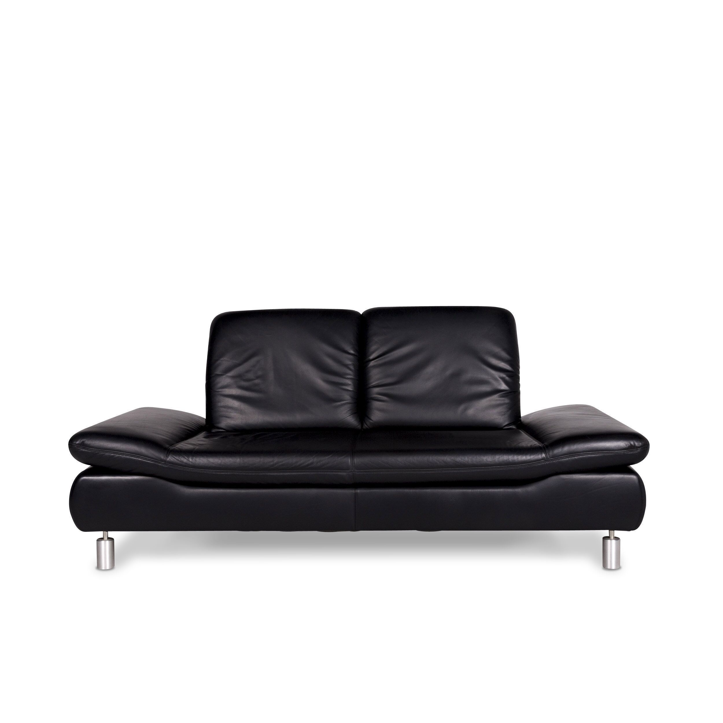 Quotes On Sofa Koinor Rivoli Designer Leather Sofa Black Two Seater Couch 9667