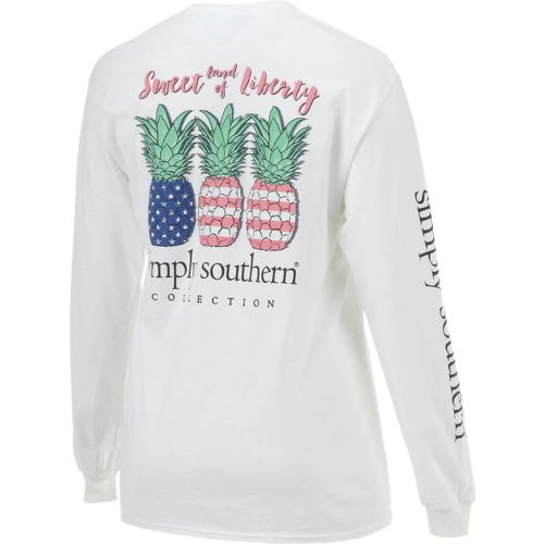 simply southern pineapple shirt