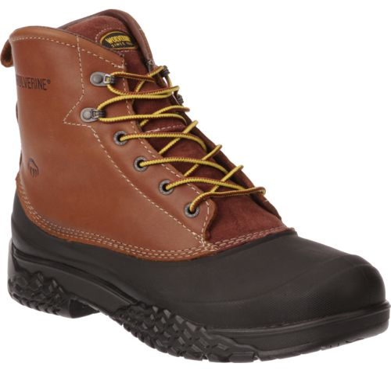 Wolverine Men39s Swamp Monster Steel Toe Lace Work Boots