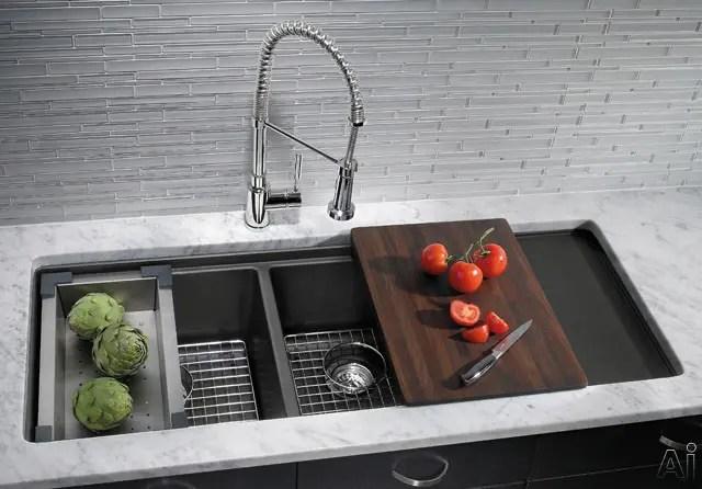 Blanco 440408 48 Inch Undermount Double Bowl Granite Sink