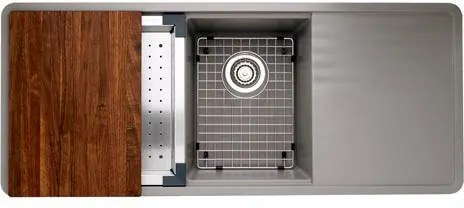 Blanco 440410 48 Inch Undermount Double Bowl Granite Sink