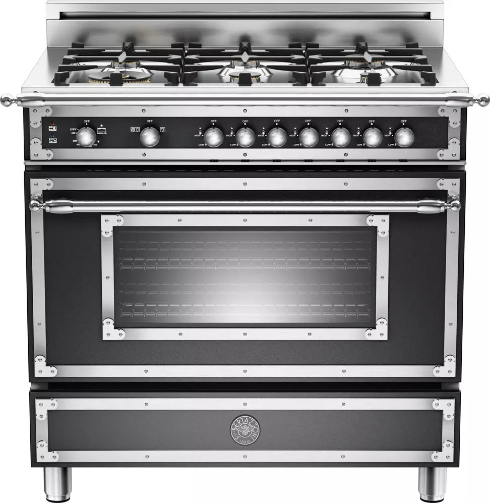 Bertazzoni Range Reviews Bertazzoni Her366gasne 36 Inch Traditional-style Gas Range