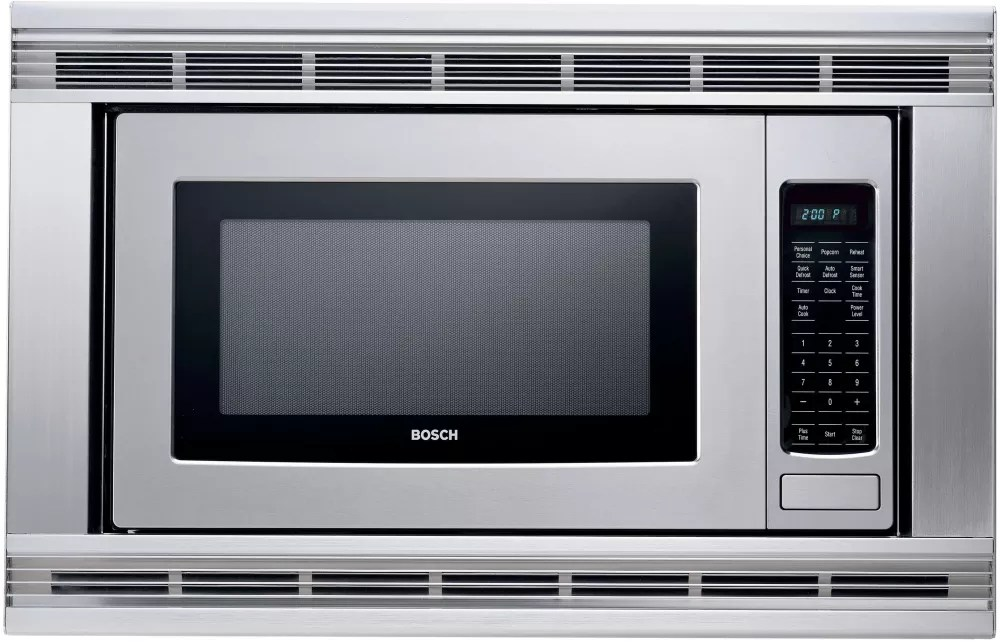 Bosch Microwave Bosch Hmb405 2 1 Cu Ft Built In Microwave Oven With 1 100