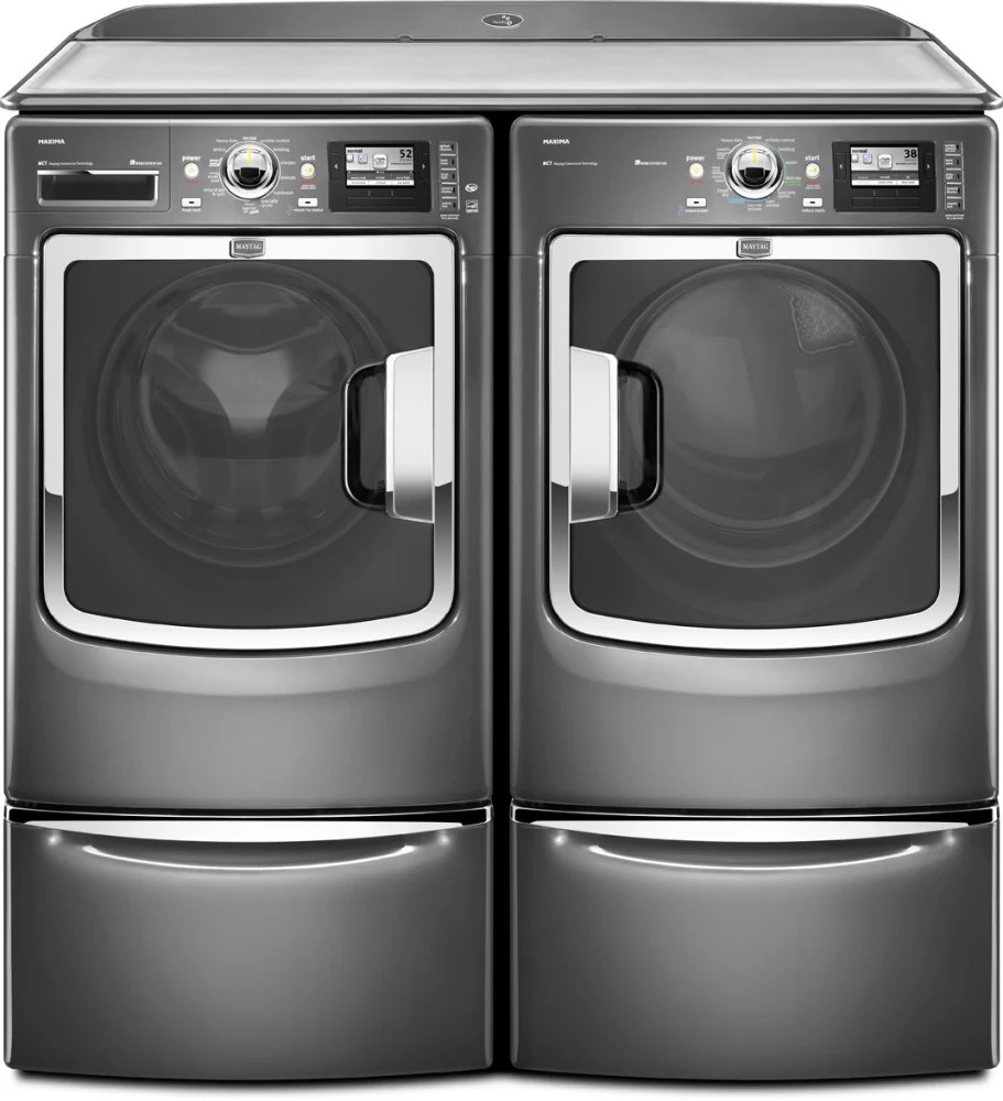 Maytag Mhw9000yg 27 Inch Front Load Washer With 4 3 Cu Ft - Maytag Maxima Washer Reviews