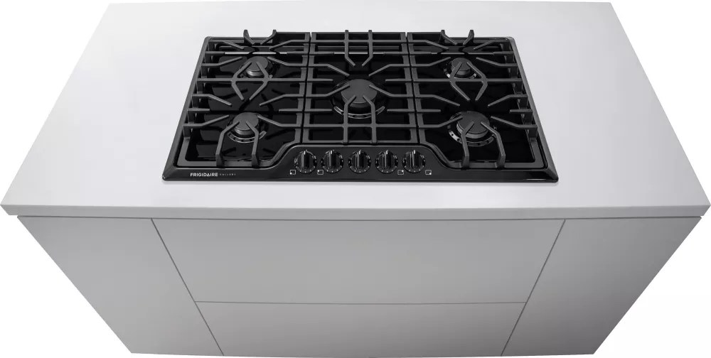 Frigidaire FGGC3645QB 36 Inch Gas Cooktop with 5 Sealed Burners