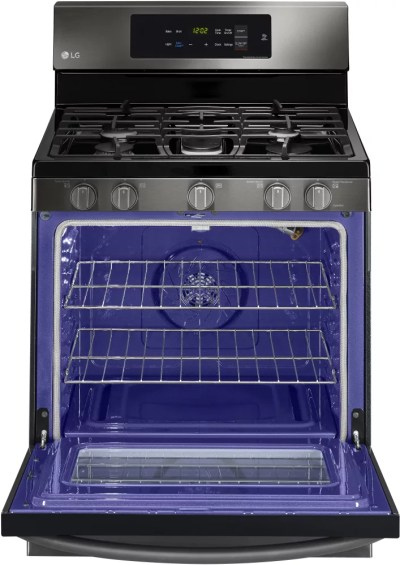 LG LRG3061BD 30 Inch Gas Range with 20 Minute EasyClean ...