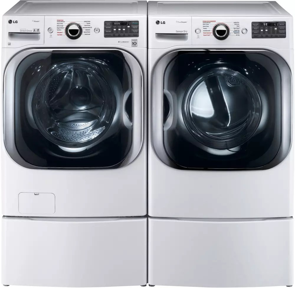 New Washer And Dryer Lg Wm8100hwa