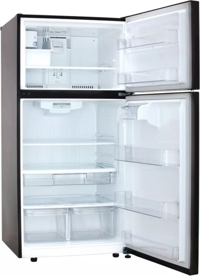 LG LTCS24223D 33 Inch Top-Mount Refrigerator with ...
