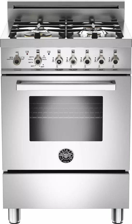 Bertazzoni Range Reviews Bertazzoni Pro244gasx 24 Inch Gas Range With Convection