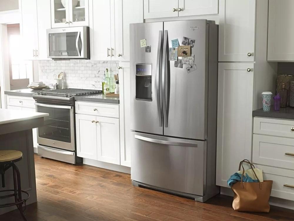 Whirlpool Wrf767sdem 36 Inch French Door Refrigerator With