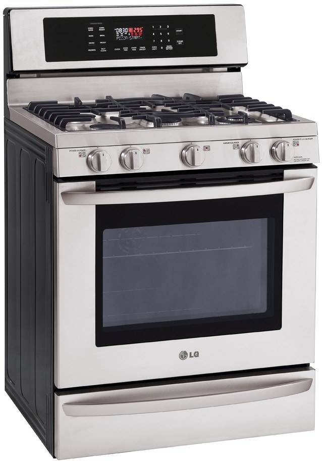 lg gas oven manual