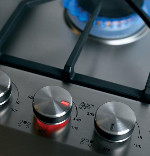 ge monogram cooktop knobs