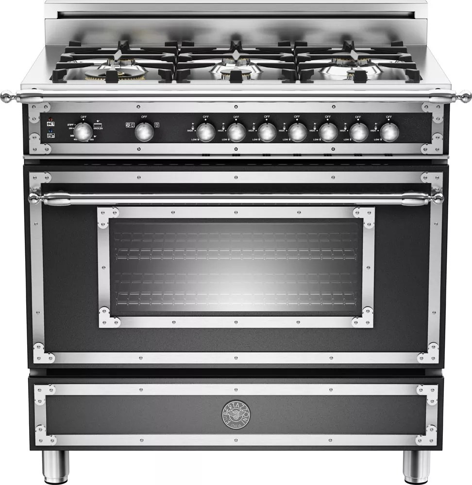Bertazzoni Reviews Bertazzoni Her366gasne 36 Inch Traditional-style Gas Range