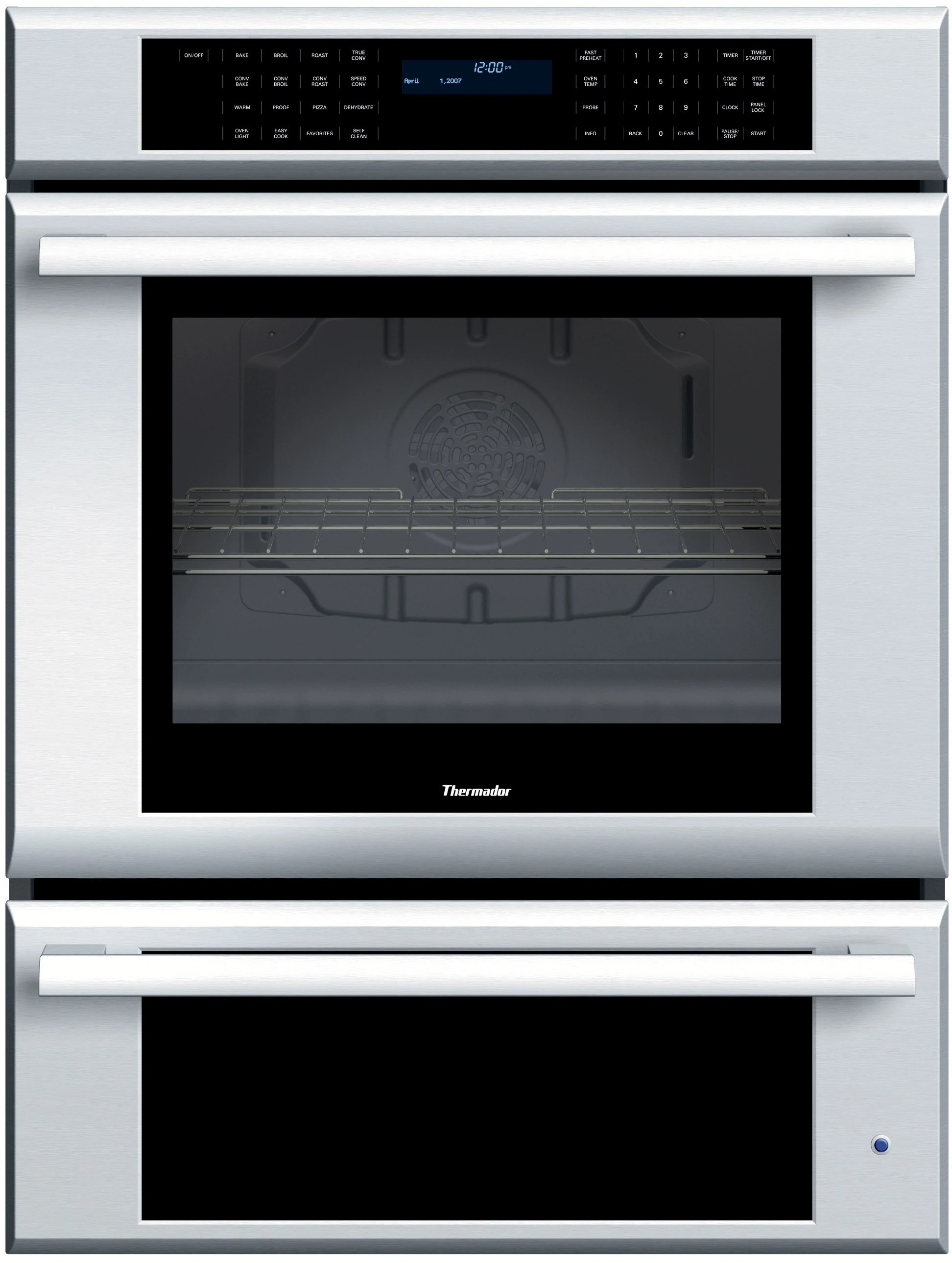Countertop Warming Drawer Thermador Mew301es 30 Inch Single Electric Wall Oven With