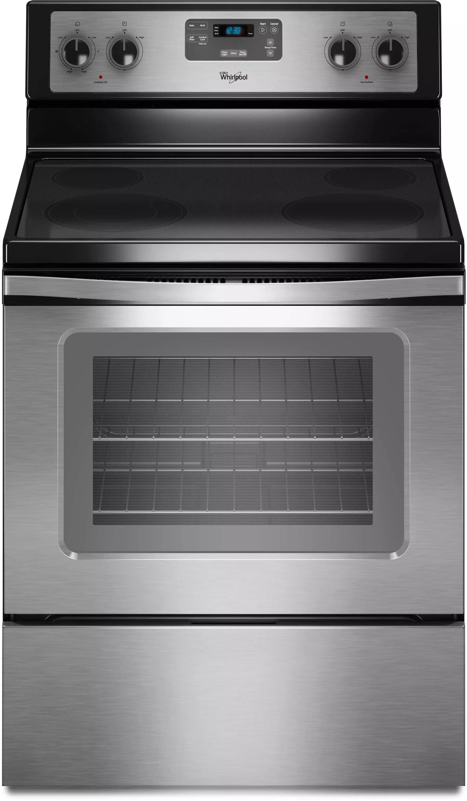 Oven Whirlpool Whirlpool Wfe510s0as 30 Inch Freestanding Electric Range