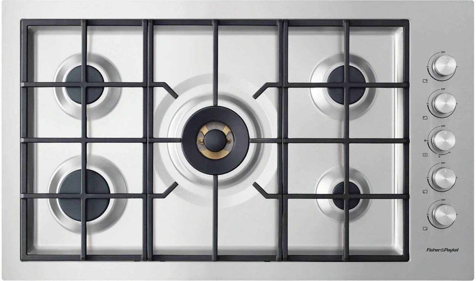 Gas Cooktop Installation Cost Fisher And Paykel Cg365dngrx2n 36 Inch Gas Cooktop With 5