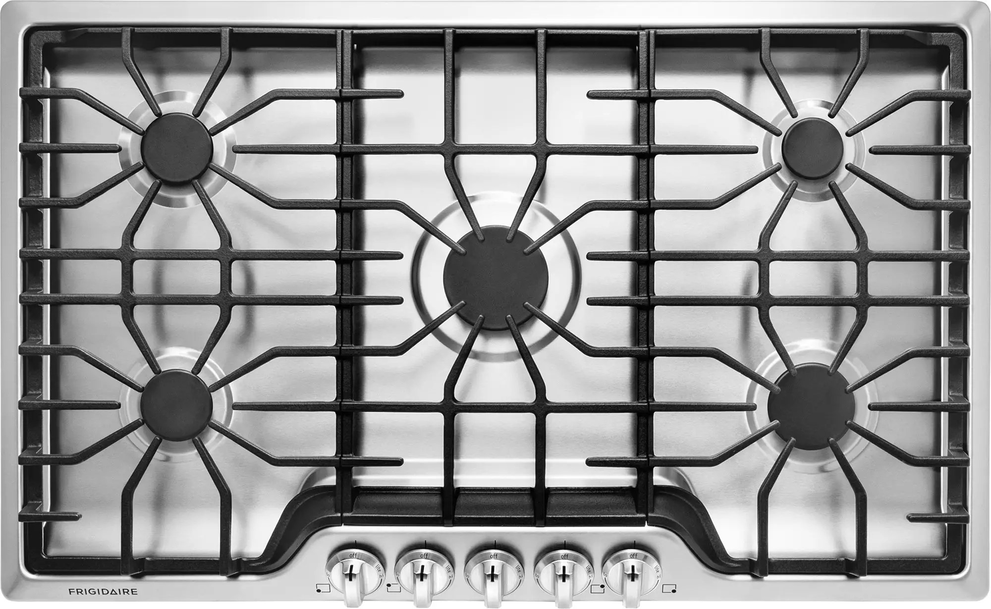 Gas Cooktop Installation Cost Frigidaire Ffgc3626ss 36 Inch Gas Cooktop With 5 Sealed