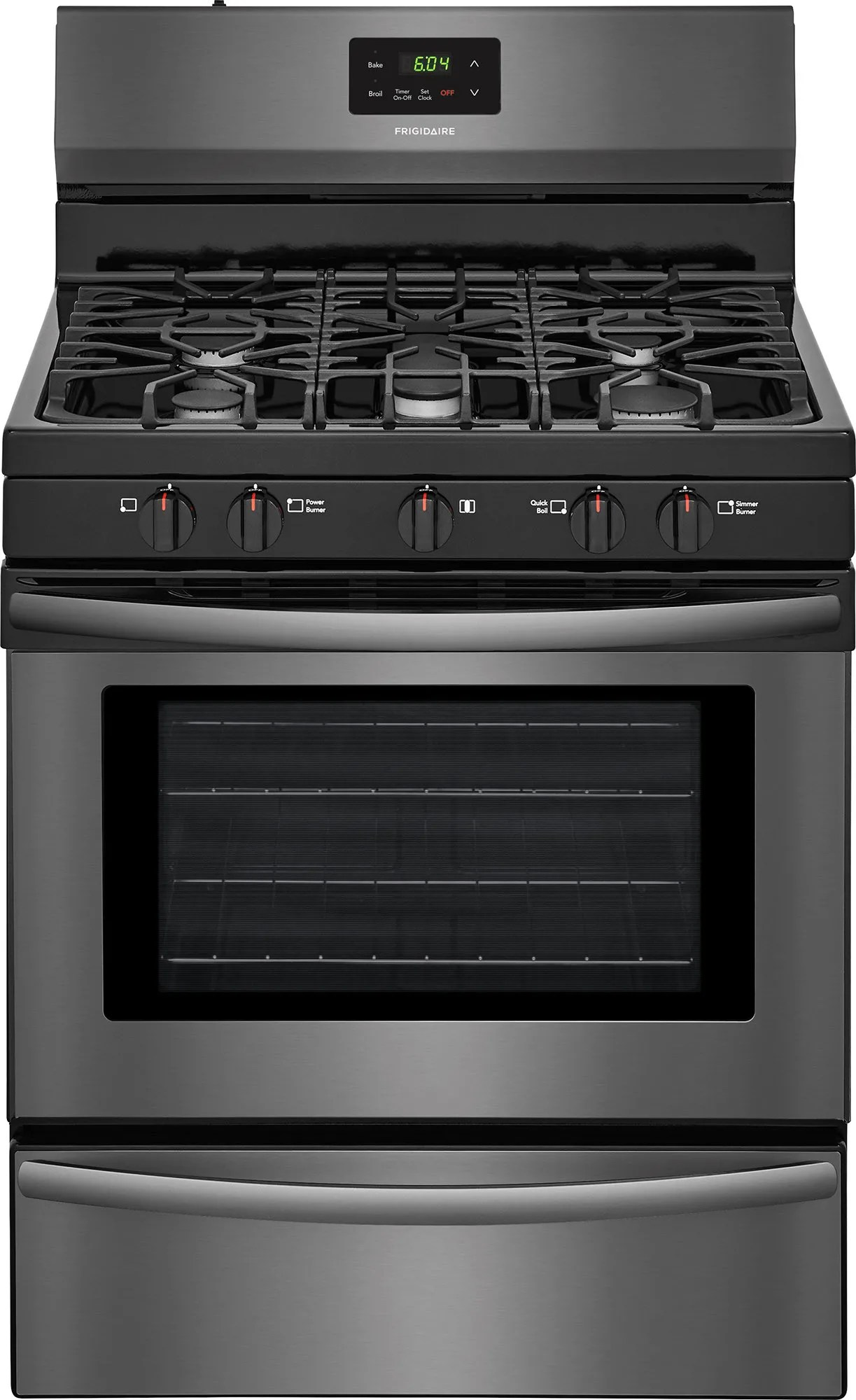 Gas Countertop Stoves Frigidaire Ffgf3052td 30 Inch Freestanding Gas Range With