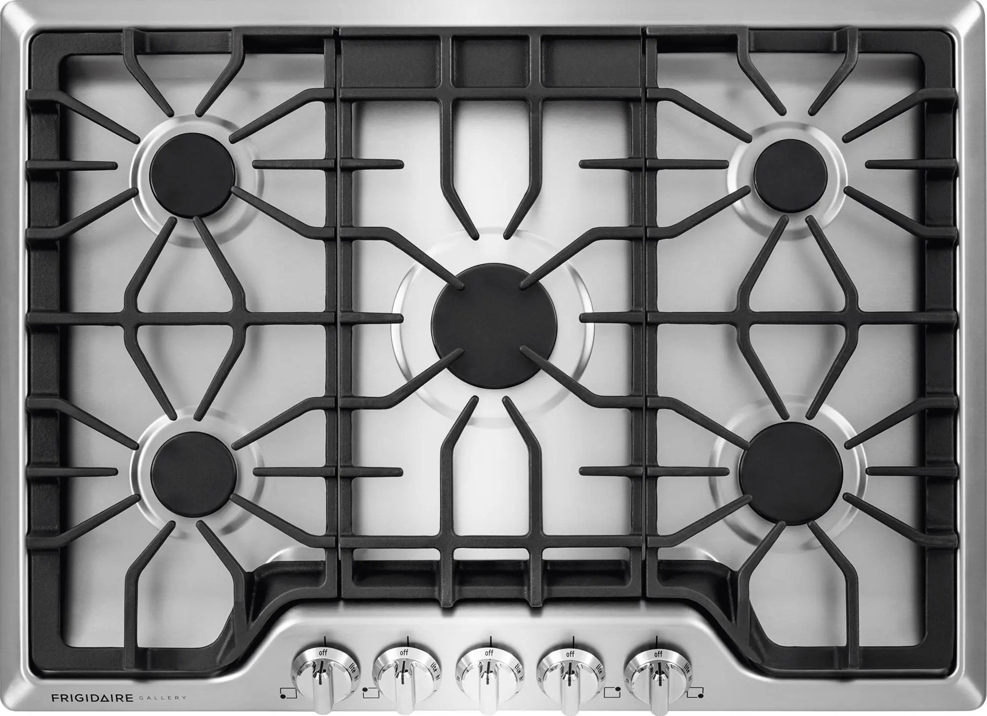 Gas Cooktop Installation Cost Frigidaire Fggc3047qs 30 Inch Gas Cooktop With Lp