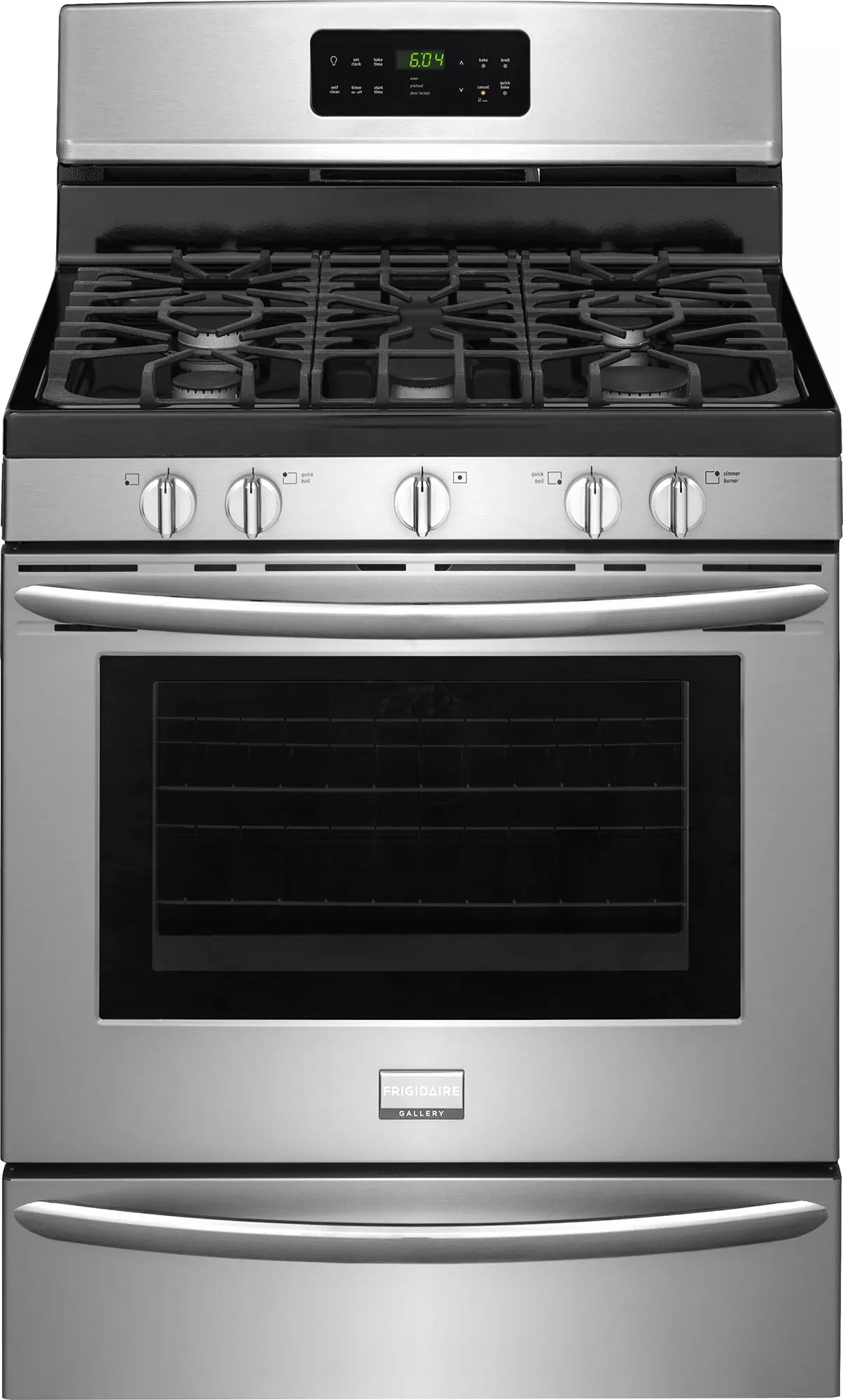 Cooktop Gas Stoves Frigidaire Dggf3046rf 30 Inch Freestanding Gas Range With
