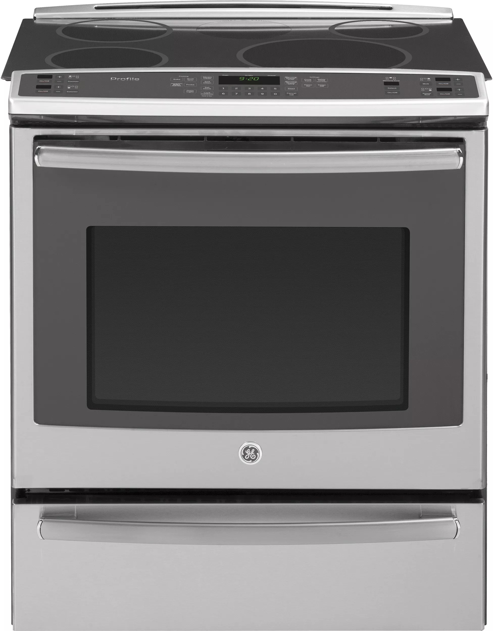 Countertop Warming Drawer Ge Phs920sfss 30 Inch Slide In Induction Range With True