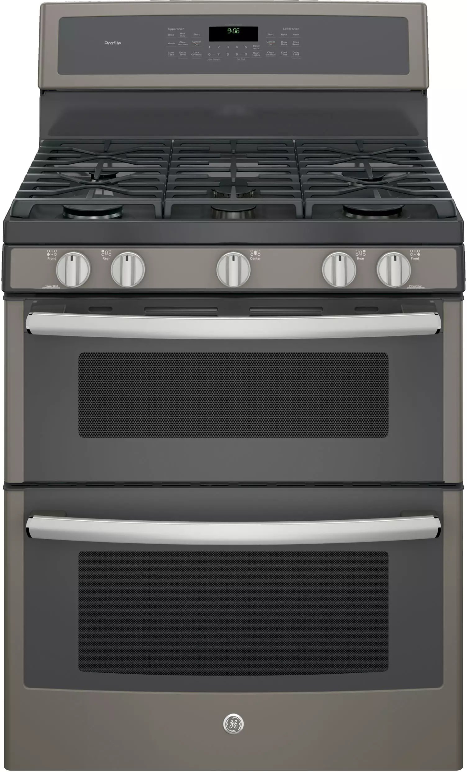 Gas Countertop Stoves Ge Pgb960eejes 30 Inch Freestanding Double Oven Gas Range
