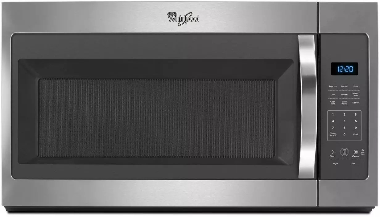Oven Whirlpool Whirlpool Wmh31017fs 1.7 Cu. Ft. Over The Range Microwave