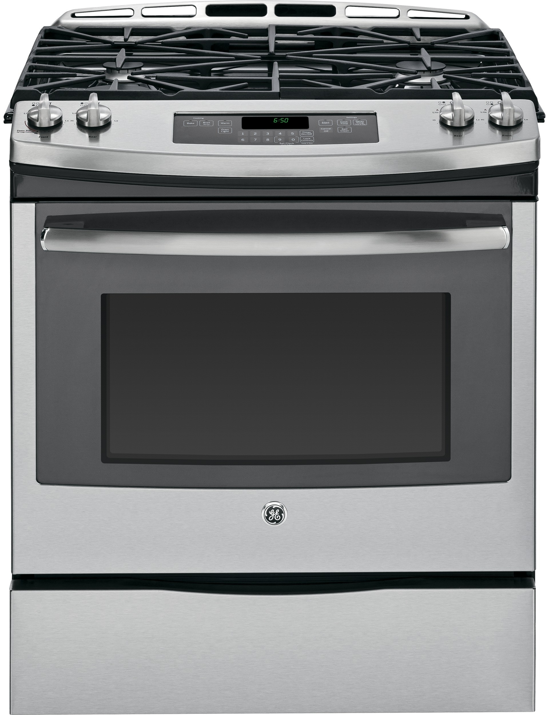 Countertop Warming Drawer Ge Jgs650sefss 30 Inch Slide In Gas Range With 5 6 Cu Ft