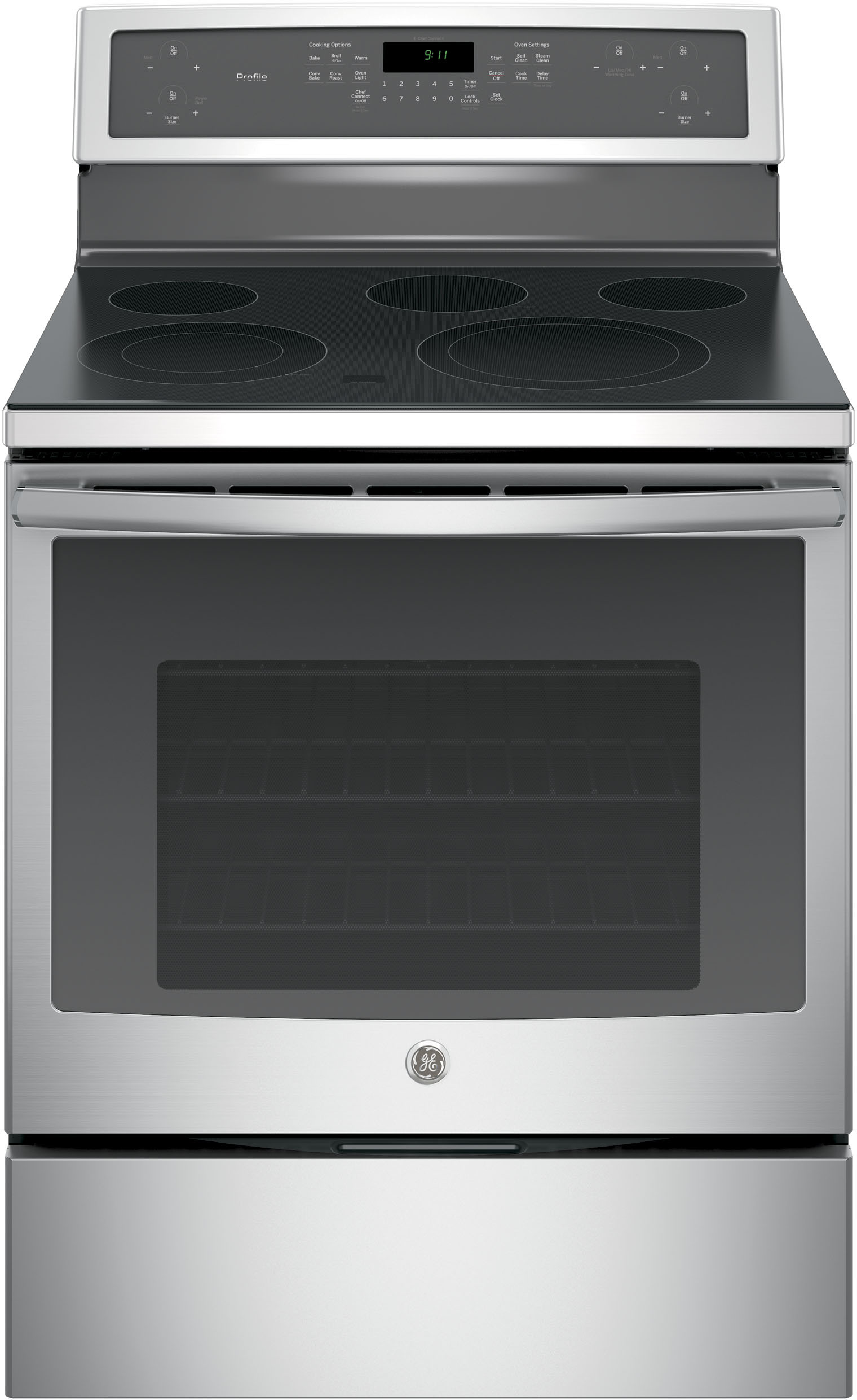 Countertop Warming Drawer Ge Pb911 30 Inch Freestanding Electric Range With 5