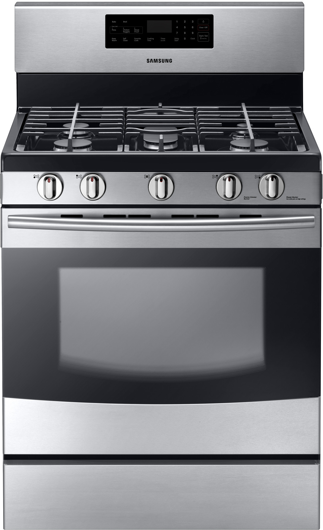 Cooktop Gas Stoves Samsung Nx58f5500ss 30 Inch Freestanding Gas Range With 5