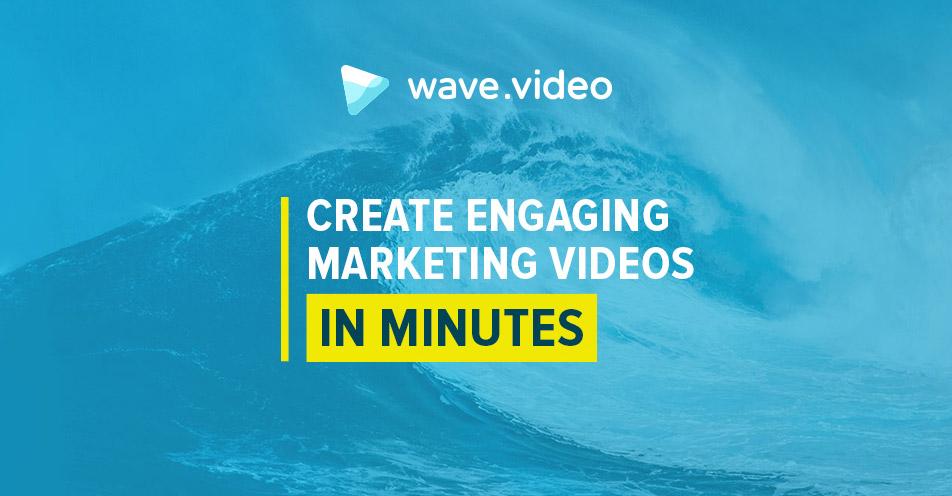Easy Online Video Maker Wavevideo - ocean waves animations