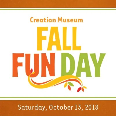 Bring the Family to the Creation Museum for Our Fall Fun Day